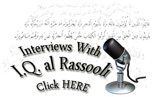 links to interviews & broadcasts with IQ al Rassooli