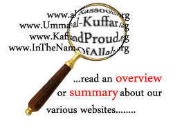 Click HERE for a SUMMARY about our various websites...
